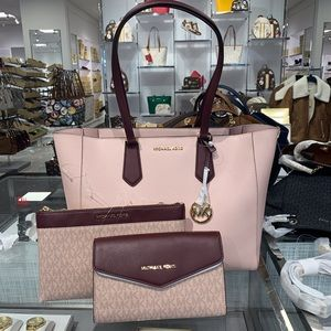 Michael Kors Kimberly 3 in 1 Tote Bag